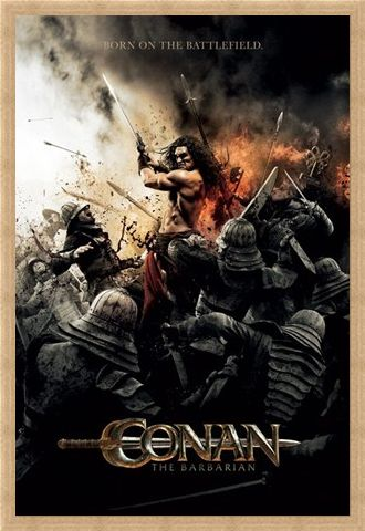 Framed Framed Born on the Battlefield - Conan the Barbarian