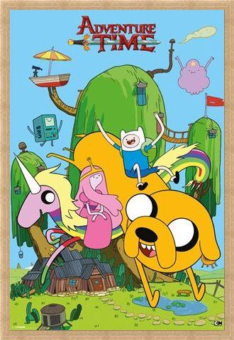 Framed Framed Finn & Friends - Adventure Time