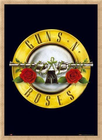 Framed Framed Guns 'N' Roses Logo - Guns 'N' Roses