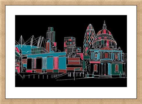 Framed Framed Eastside - James Brown