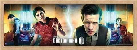 Framed Framed The Centre Of The Tardis - Dr Who