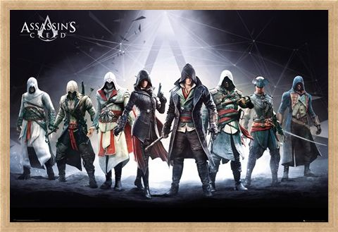 Framed Framed Character Compilation - Assassin's Creed