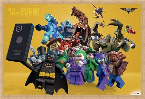Framed Framed Best Selfie Ever - The Lego Batman Movie