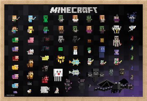 Framed Framed Pixel Sprites - Minecraft