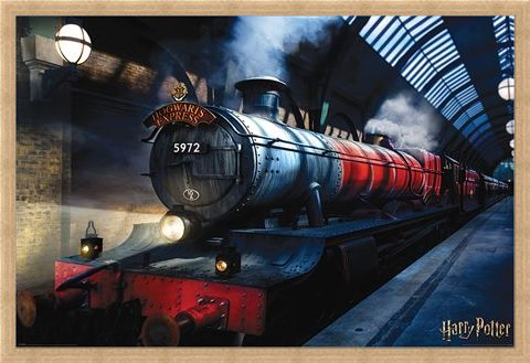 Framed Framed Hogwarts Express - Harry Potter