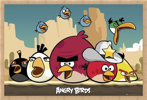 Framed Framed The Sheriff has Arrived! - Angry Birds