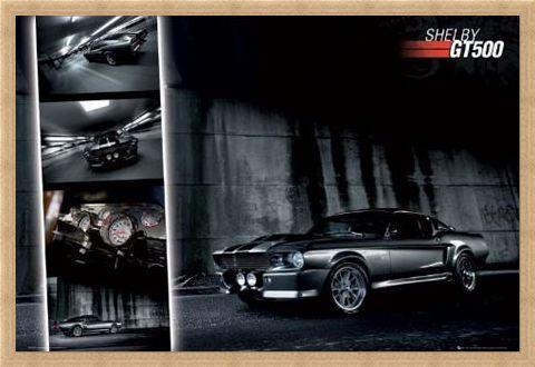Framed Framed Shelby GT500 - Ford Mustang