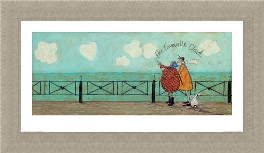 Framed Framed Her Favourite Cloud II - Sam Toft