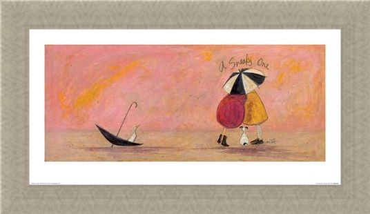Framed Framed A Sneaky One II - Sam Toft