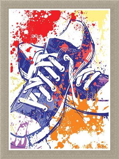 Framed Framed Psychedelic Sneakers - Alternative Kicks