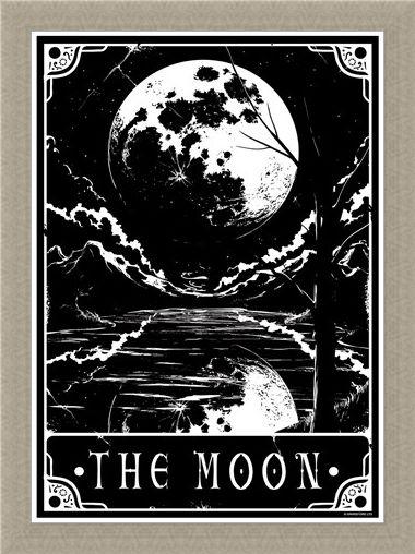 Framed Framed The Moon - Deadly Tarot