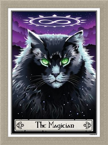 Framed Framed The Magician - Deadly Tarot Felis