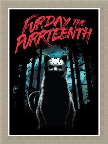 Framed Framed Furday The Purrteenth - Masked Moggie