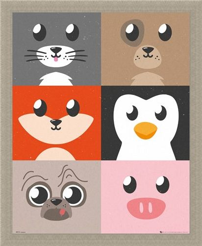 Framed Framed Cutest Critters Compilation - Animal