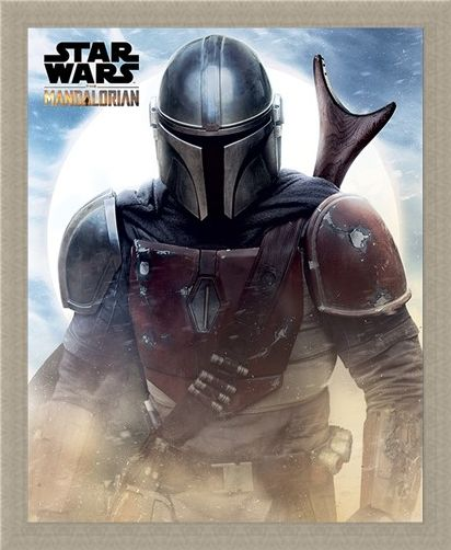 Framed Framed Sand - Star Wars: The Mandalorian