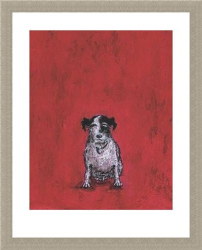 Framed Framed Small Dog - Sam Toft