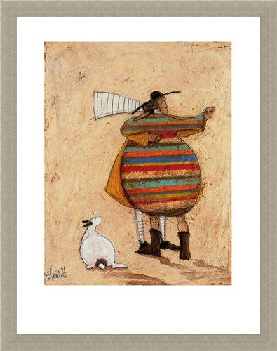 Framed Framed Dancing Cheek to Cheeky - Sam Toft