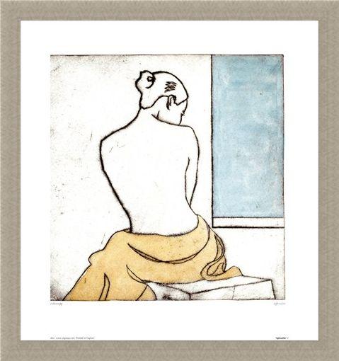 Framed Framed Aphrodite - John Blenkinsopp