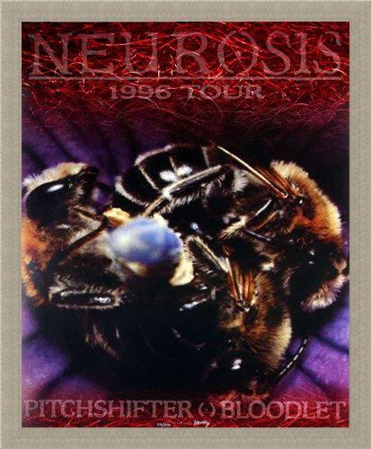 Framed Framed Neurosis 1996 Tour - Frank Kozik