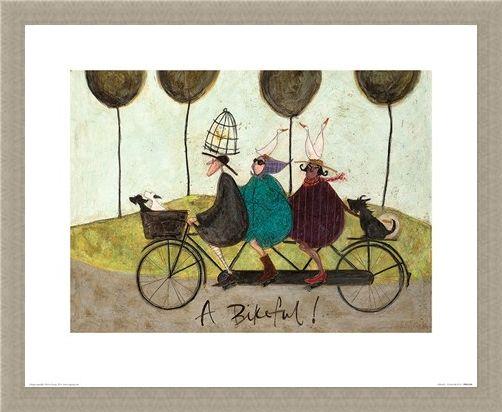 Framed Framed A Bikeful! - Sam Toft