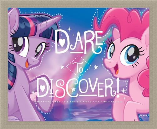 Framed Framed Dare to Discover - My Little Pony Movie