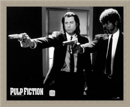 Framed Framed Vincent and Jules - Pulp Fiction