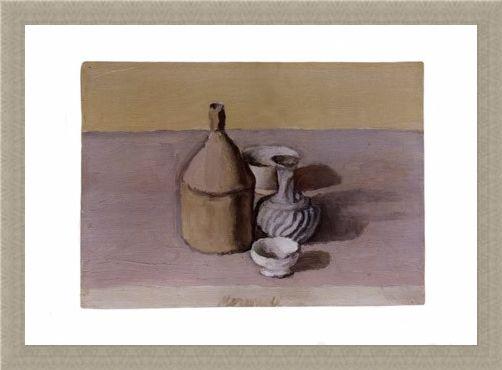 Framed Framed Flagon - Giorgio Morandi