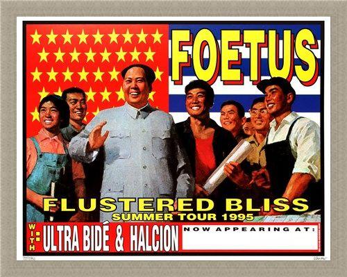 Framed Framed Foetus Summer Tour 1995 - Frank Kozik