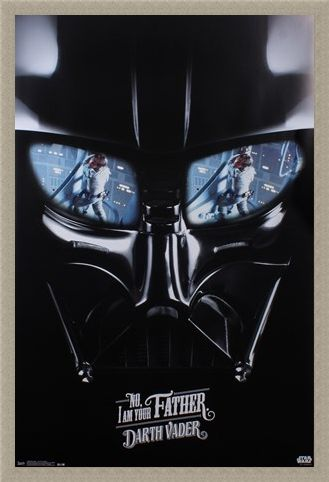 Framed Framed Darth Vader - I Am Your Father - Star Wars
