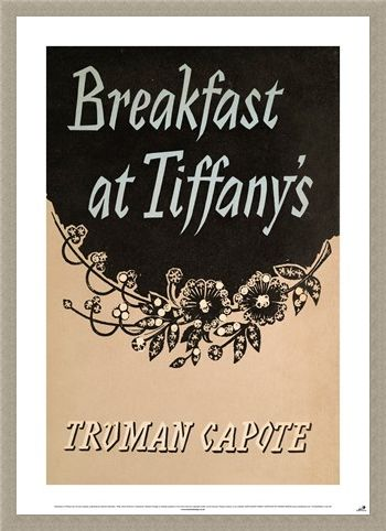 Framed Framed Breakfast At Tiffany's - Truman Capote