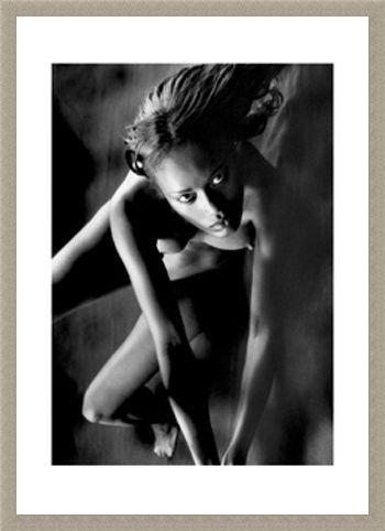 Framed Framed February, Nude Model - Bruno Bisang