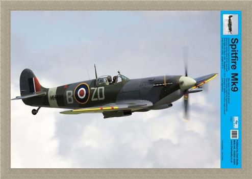 Framed Framed Spitfire - Learn The Ways of the Skies