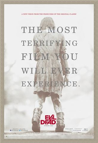 Framed Framed A Terrifying Experience - The Evil Dead