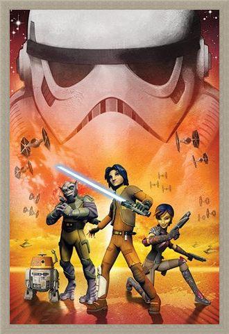 Framed Framed Star Wars Rebels - Disney Channel