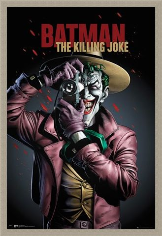 Framed Framed The Killing Joke - Batman Graphic Novel
