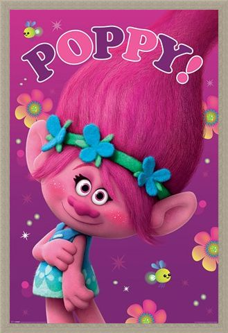 Framed Framed Poppy - Trolls The Movie