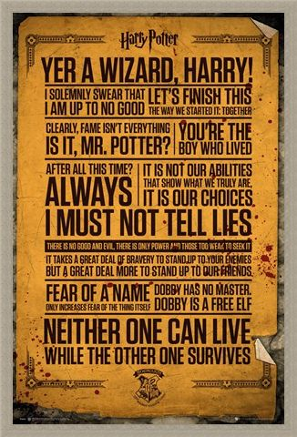 Framed Framed Do You Solemnly Swear You're Up To No Good? - Harry Potter Quotes