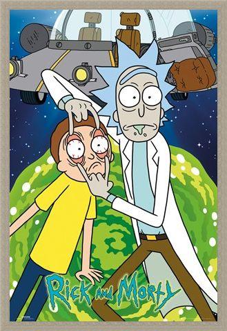 Framed Framed Like Grandfather Like Grandson - Rick And Morty