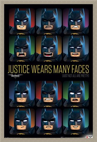 Framed Framed Justice Wears Many Faces - Lego Batman