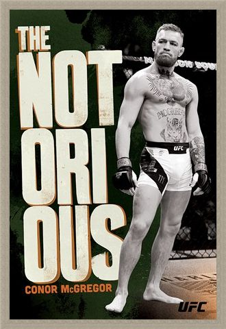 Framed Framed Mystic Mac Monochrome - Conor McGregor