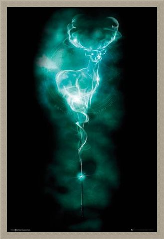 Framed Framed Patronus Stag - Harry Potter