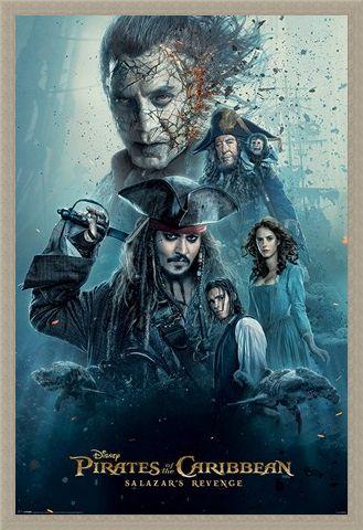 Framed Framed Burning - Pirates of the Caribbean