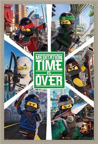 Framed Framed LEGO® Ninjago Movie Six Ninjas - LEGO® Ninjago Movie