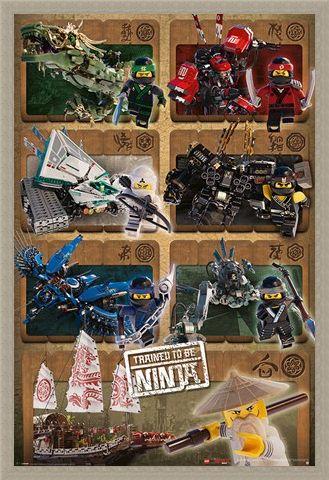 Framed Framed Ninjas & Mechs - LEGO® Ninjago