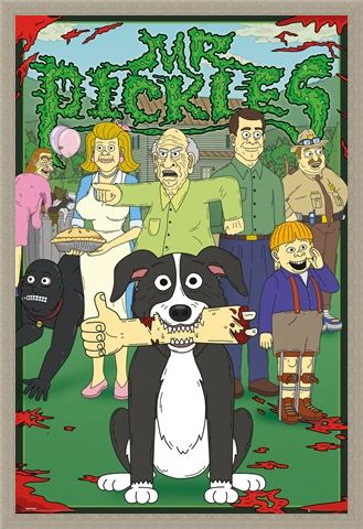 Framed Framed Characters - Mr. Pickles