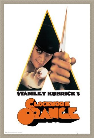 Framed Framed A Stanley Kubrick's Movie - Clockwork Orange