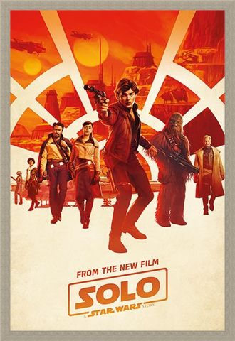 Framed Framed Millennium Teaser - Solo: A Star Wars Story