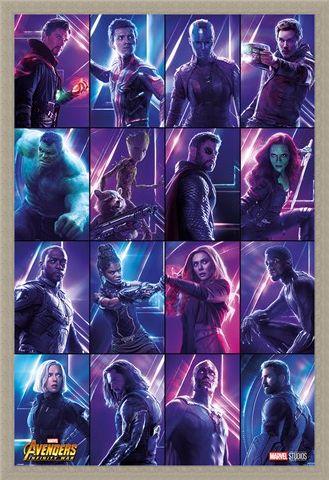 Framed Framed Infinity War Heroes - Avengers