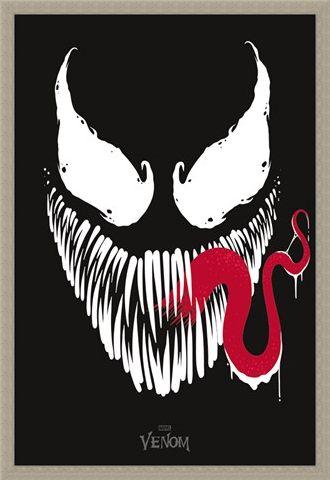 Framed Framed Face - Venom