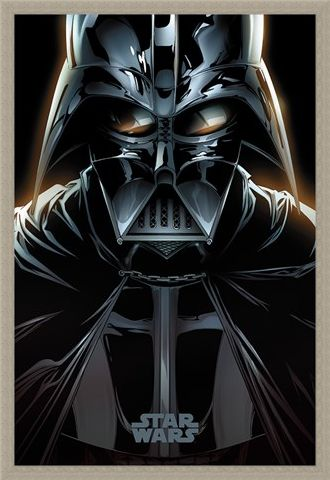Framed Framed Vader Comic - Star Wars